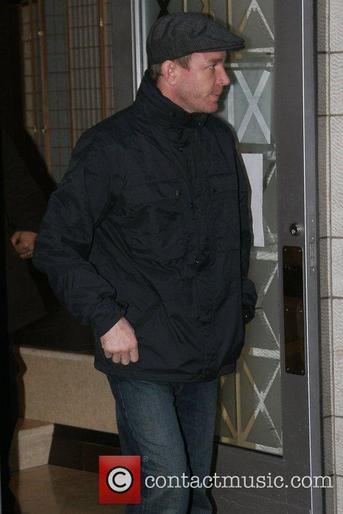 Guy Ritchie outside the Manhattan Kabbalah Centre New...