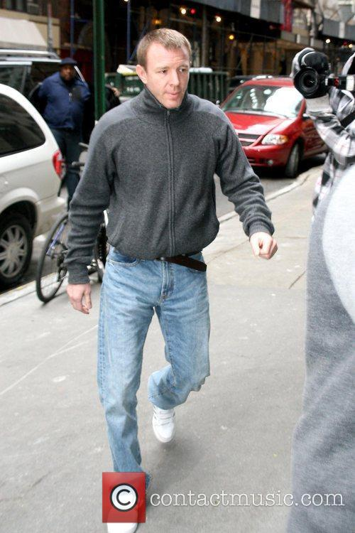 Guy Ritchie arrives at the Manhattan Kabbalah Centre...