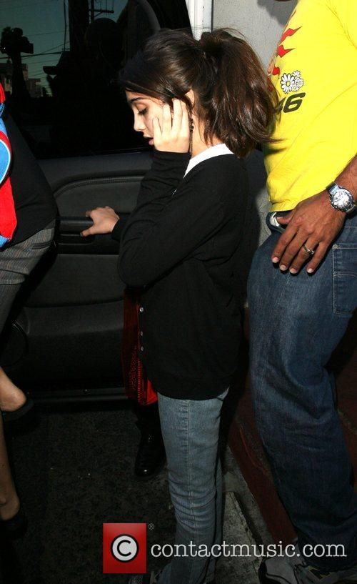Lourdes Leon Madonna and her family leaving the...