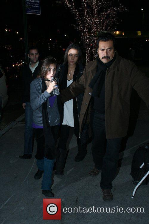 Lourdes Leon Madonna arrives at the Kabbalah Center...