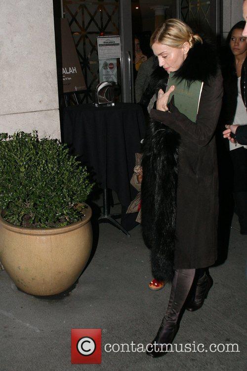 Madonna and David Banda Madonna departs the Kabbalah...