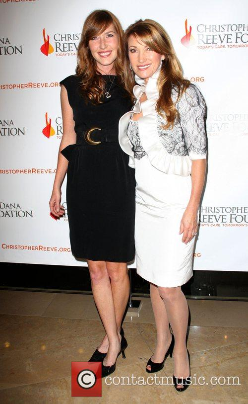 Jane Seymour and Daughter Katherine Flynn 10
