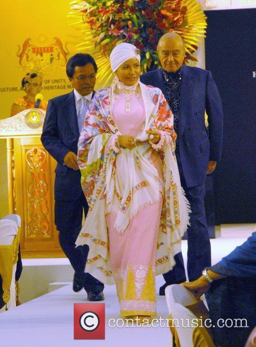 The King and Queen of Malaysia attend a...