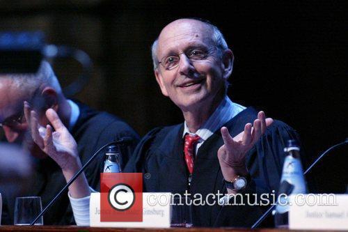 Justice Stephen Breyer presides over the Supreme Court...