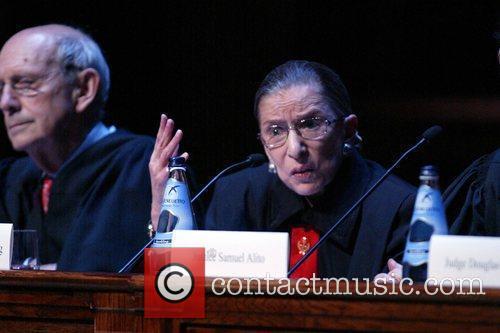Justice Stephen Breyer and Justice Ruth Bader Ginsburg...