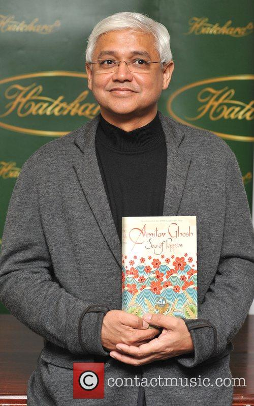Amitav Ghosh The Man Booker Prize shortlisters photocall...
