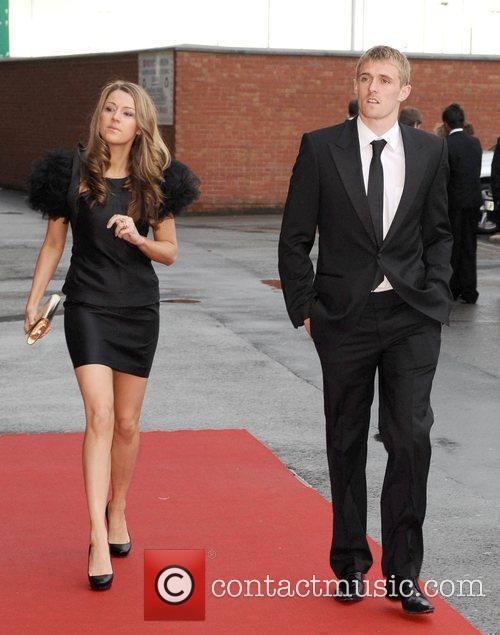 Darren Fletcher and Hayley Grice Manchester United Football...