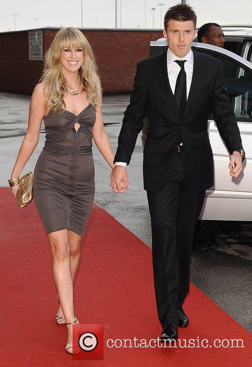 Lisa Roughead and Michael Carrick Manchester United Football...