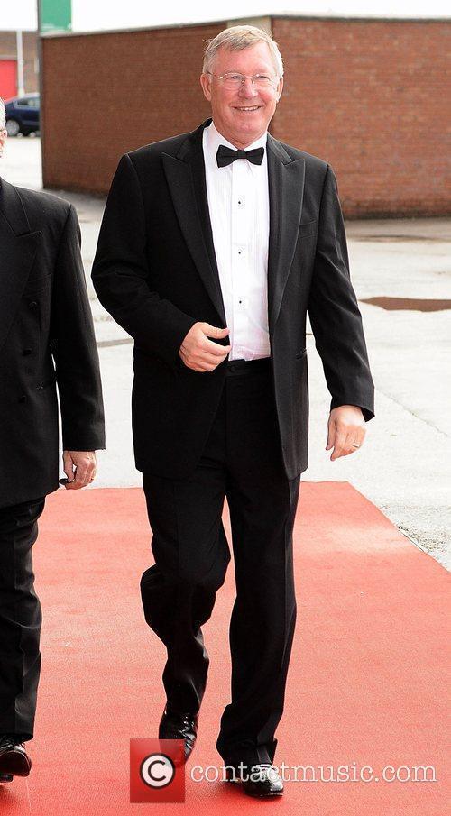 Sir Alex Ferguson Manchester United Football Club player...