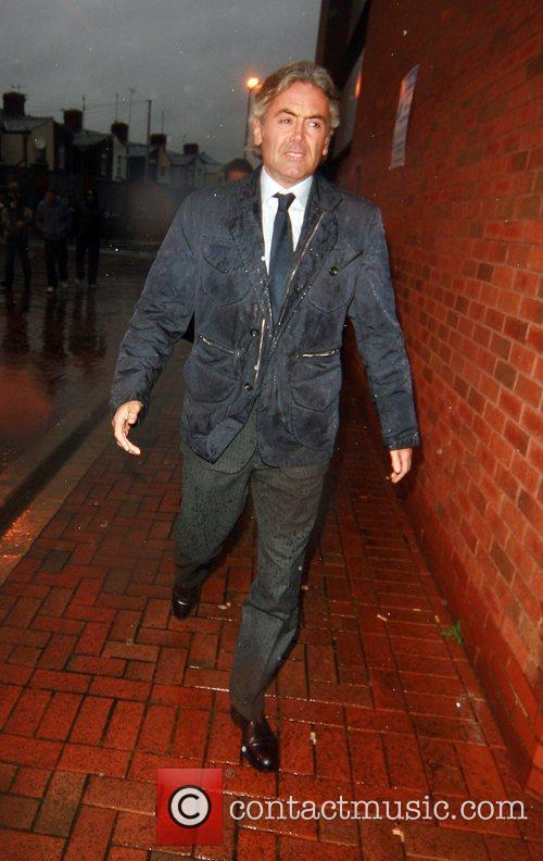 England team assistant manager, Franco Baldini arrives at...