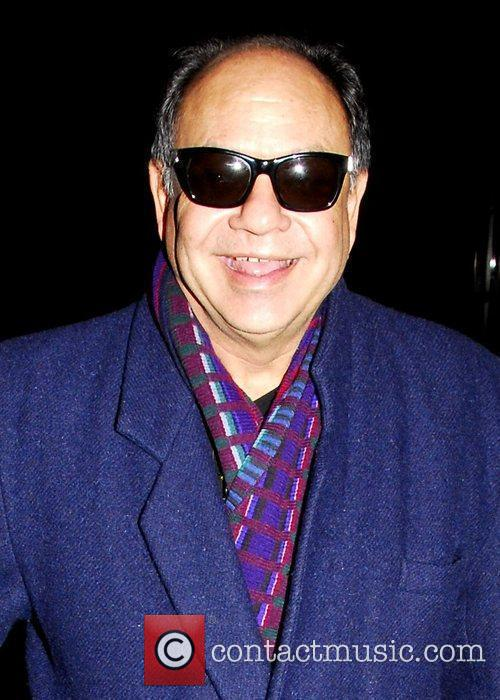 Cheech Marin, Bundled Up To Brave The Chilly Temperatures, Out and About In Manhattan 2