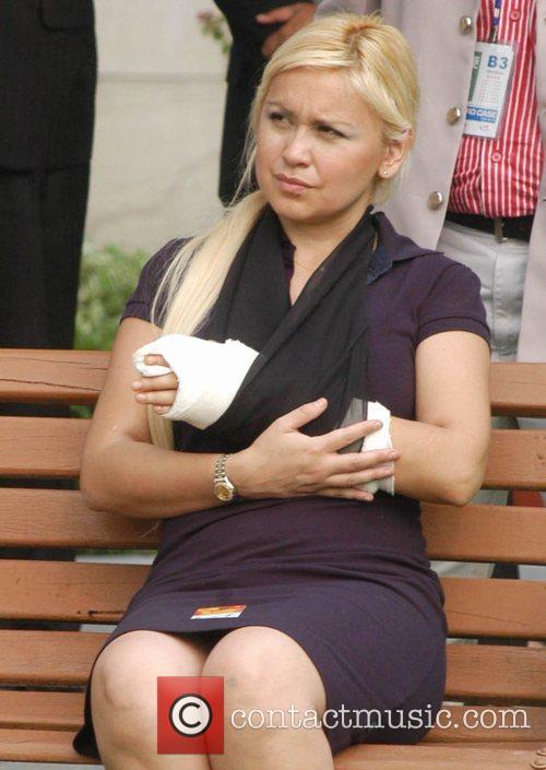 Diego Maradona's Girlfriend and Diego Maradona 1