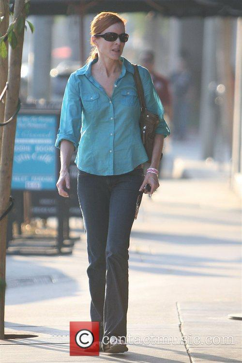 'Desperate Housewives' star Marcia Cross out and about...