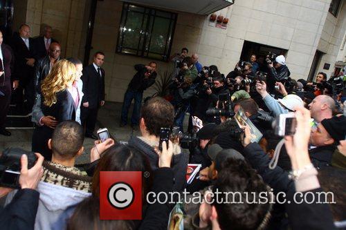 Mariah Carey, Nick Cannon, Dorchester Hotel