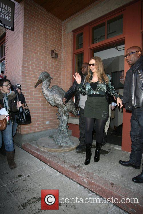 Seen leaving her hotel during the 2009 Sundance...