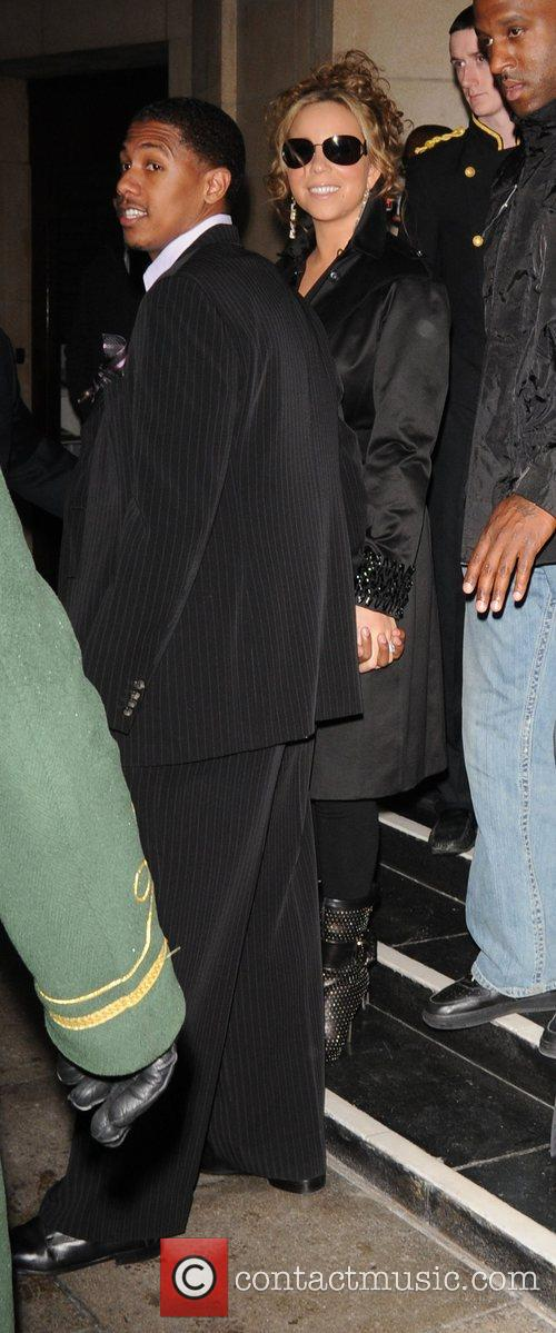 Mariah Carey and her husband Nick Cannon 2