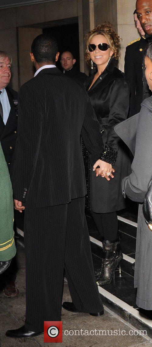 Mariah Carey and her husband Nick Cannon 1