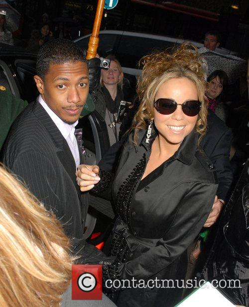Mariah Carey and her husband Nick Cannon 9