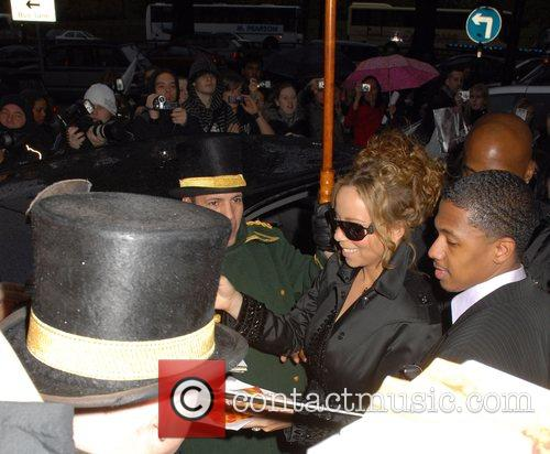 Mariah Carey and her husband Nick Cannon 4