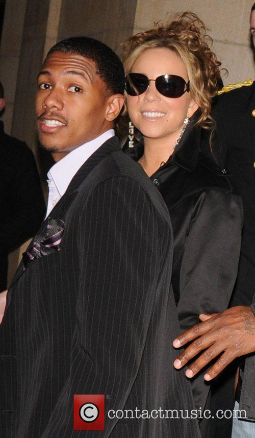 Mariah Carey and her husband Nick Cannon 6