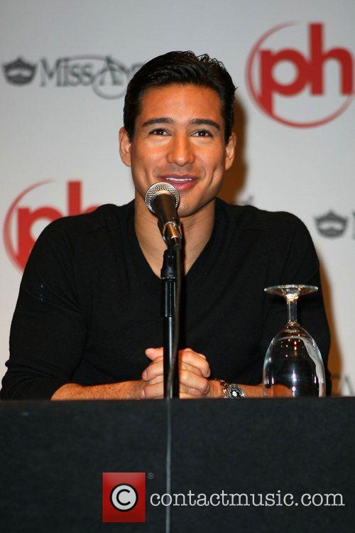 Mario Lopez, host of the Miss America Pageant...
