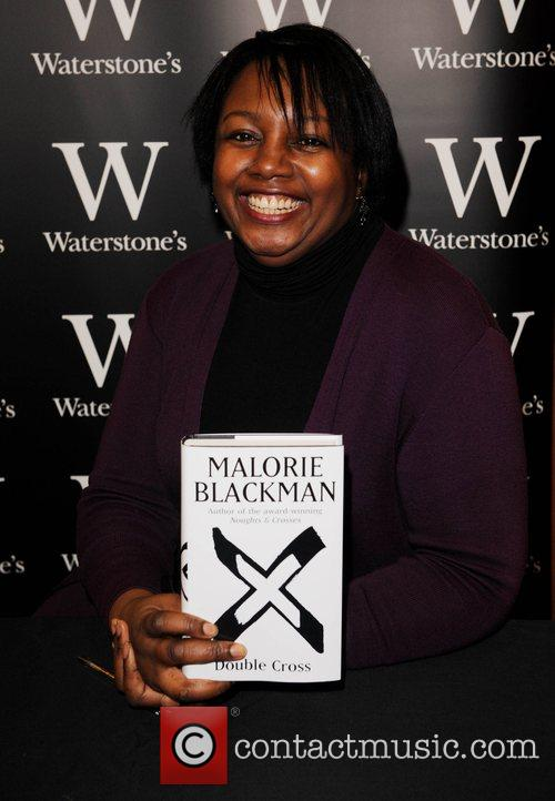 Signs her book 'Double Cross' at Waterstones Bromley