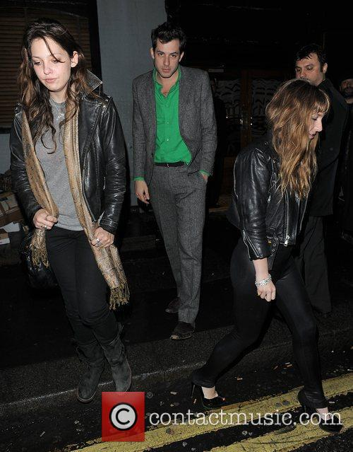 Mark Ronson enjoys a night out at The...