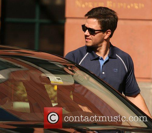 Mark Wahlberg leaving a medical centre in Beverly...