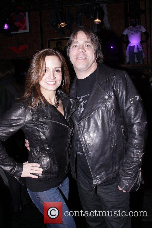 Andy Hilfiger and his wife Marky Ramone's Rock...