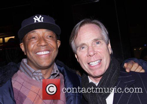 Russell Simmons and Tommy Hilfiger Marky Ramone's Rock...