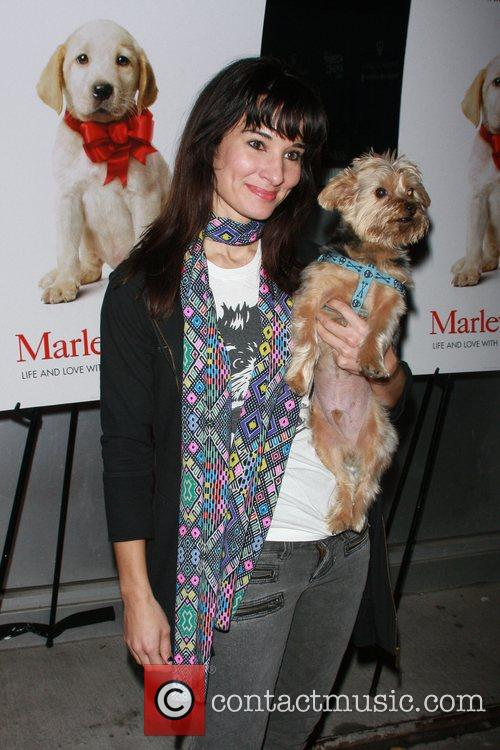 Alison Becker and Her Dog Dignan