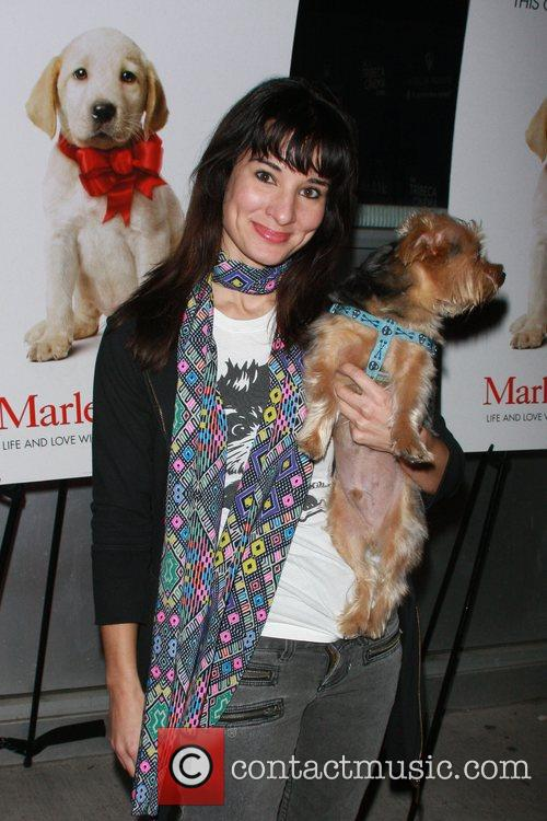 Alison Becker and her dog Dignan New York...