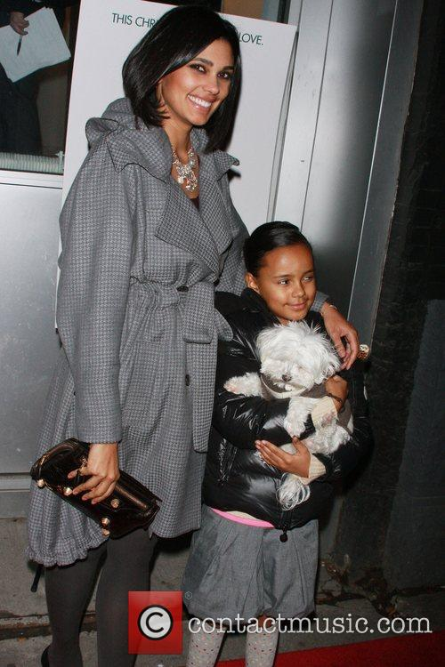 Rachel Roy and her daughter Ava with their...