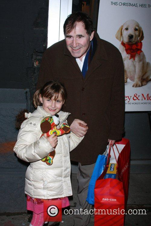 Richard Kind and his daughter New York Premiere...