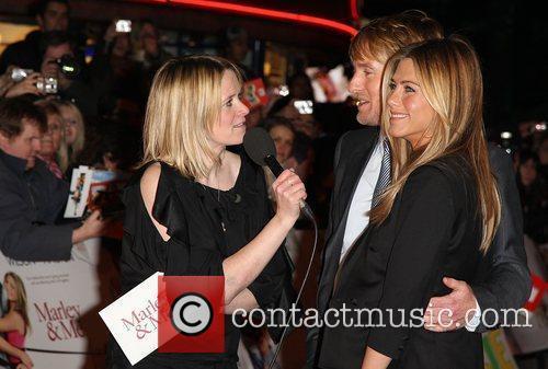 Marley And Me - UK film premiere held...
