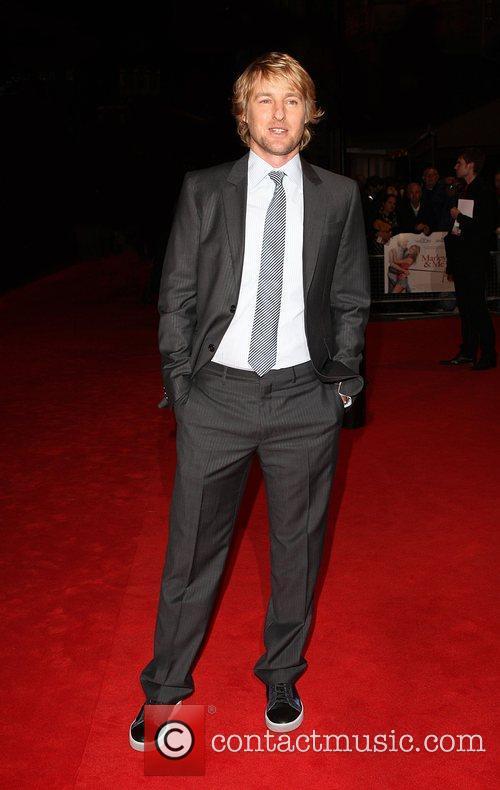 Owen Wilson Marley And Me - UK film...