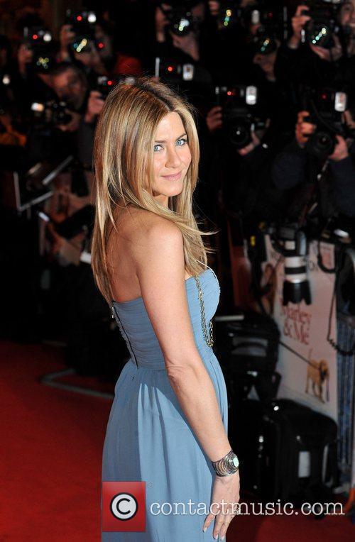 Jennifer Aniston Marley And Me - UK film...
