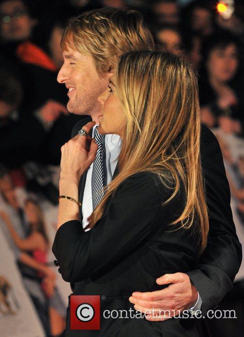 Owen Wilson and Jennifer Aniston 1