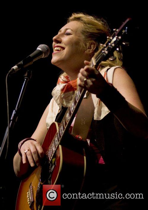 Martha Wainwright  performing at Liverpool Philharmonic Hall...