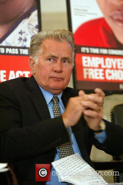 Martin Sheen 'Faces of the Employee Free Choice...