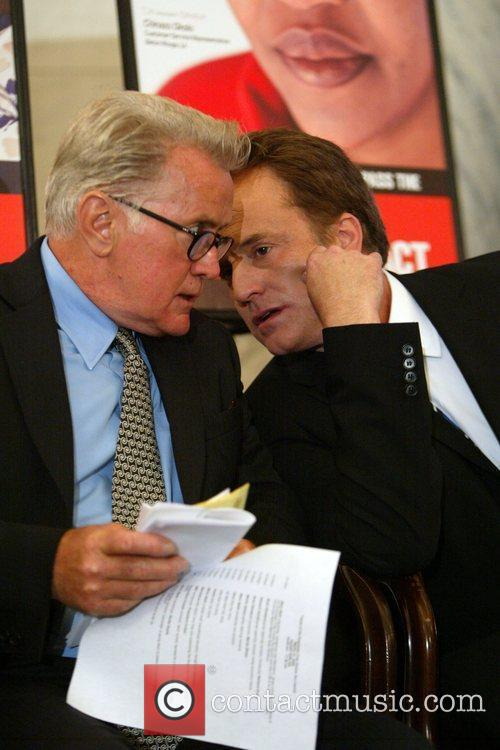 Martin Sheen and Bradley Whitford 4