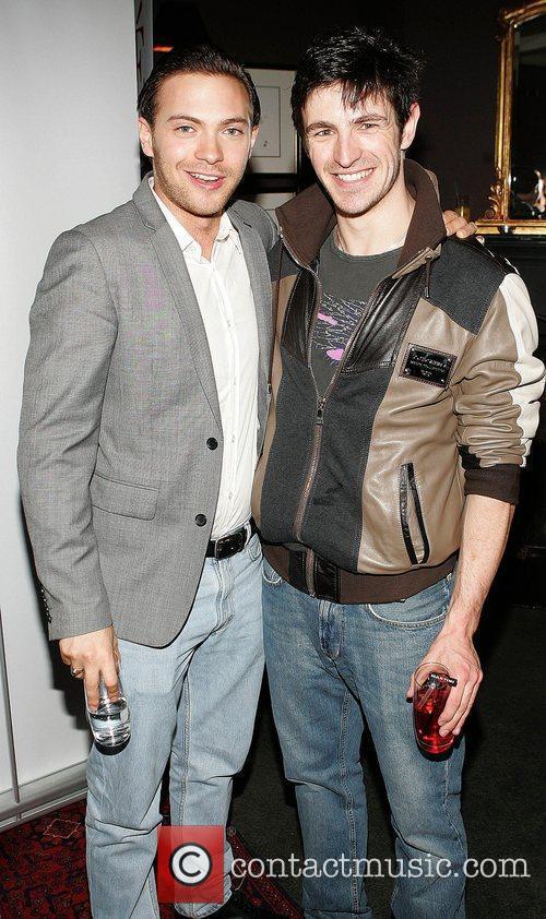 Matt Di Angelo and Eoin Macken  at...
