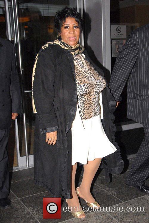 Aretha Franklin and Matt Lauer 3