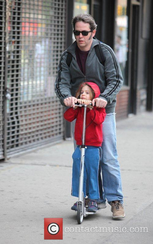 Matthew Broderick plays the doting father as he...