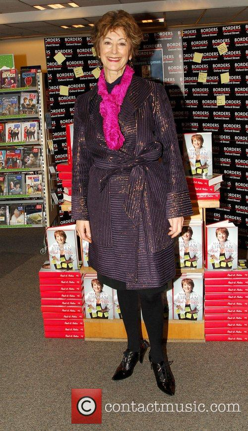 Maureen Lipman signs copies of her memoir 'Past-It...