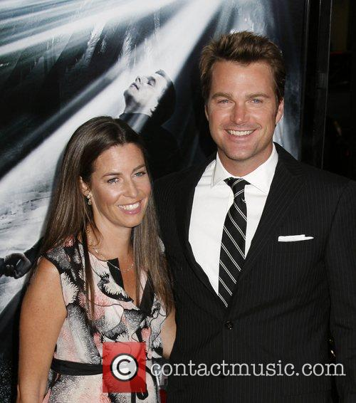 Caroline Fentress and Chris O'donnell 1