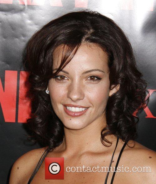 Marianthi Evans Los Angeles Premiere 'Max Payne' held...