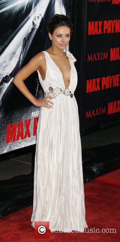 Mila Kunis Los Angeles Premiere 'Max Payne' held...