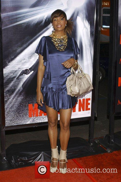 Aisha Tyler Los Angeles Premiere 'Max Payne' held...