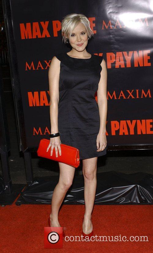 Brea Grant Los Angeles Premiere 'Max Payne' held...